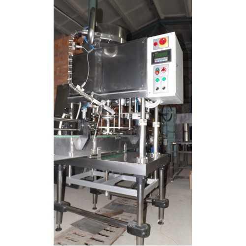 Автомат для закручивания ПЭТ колпачка АЗПК-28А-2500