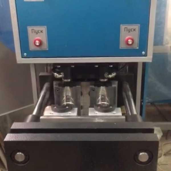 Пресс выдува ПВМ 181 полуавтомат стандарт (0,25 л до 2 л) 25 Бар