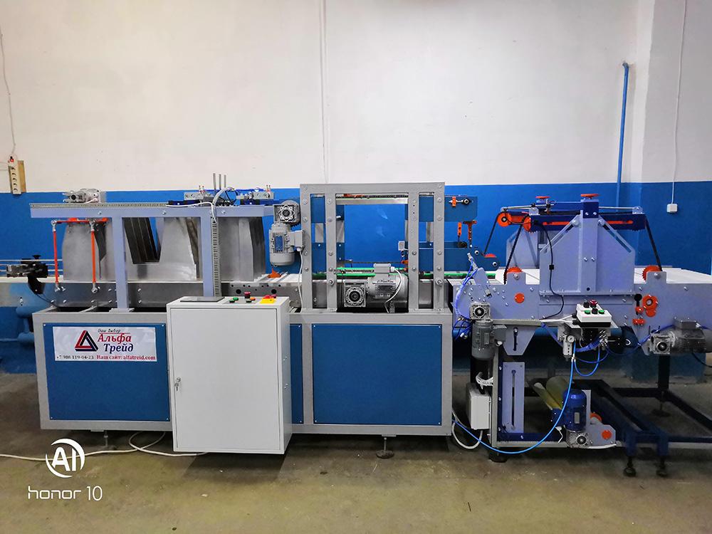 Группиратор и обмотчик (линейный упаковщик) УПМ 171-172