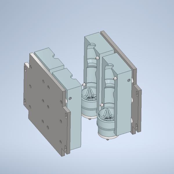 Пресс-формы для полуавтоматов
