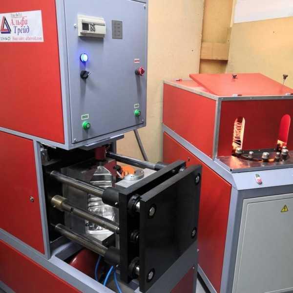 Пресс выдува ПВМ 182 полуавтомат и печь разогрева преформ ПНТ 800У